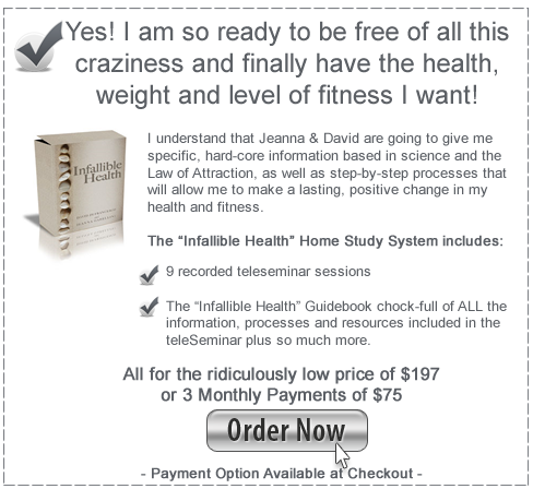Buy The Infallible Health System